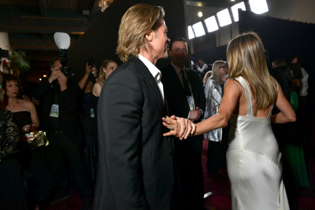Brad Pitt, Jennifer Aniston SAG Awards 2020