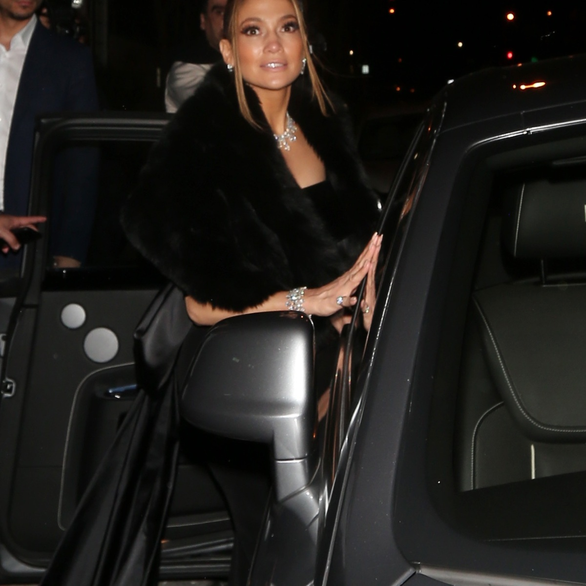 Jennifer Lopez Is All Smiles With Fiance Alex Rodriguez Following the 2020 SAG Awards