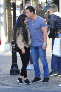 John Cena and Girlfriend Shay Shariatzadeh Pack on the PDA After News of Nikki Bella's Engagement