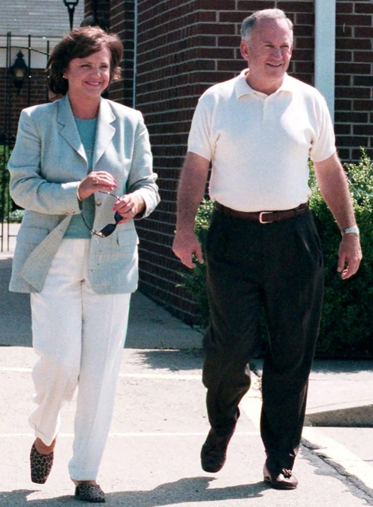 JonBenet's parents, Patsy Ramsey and John Ramsey