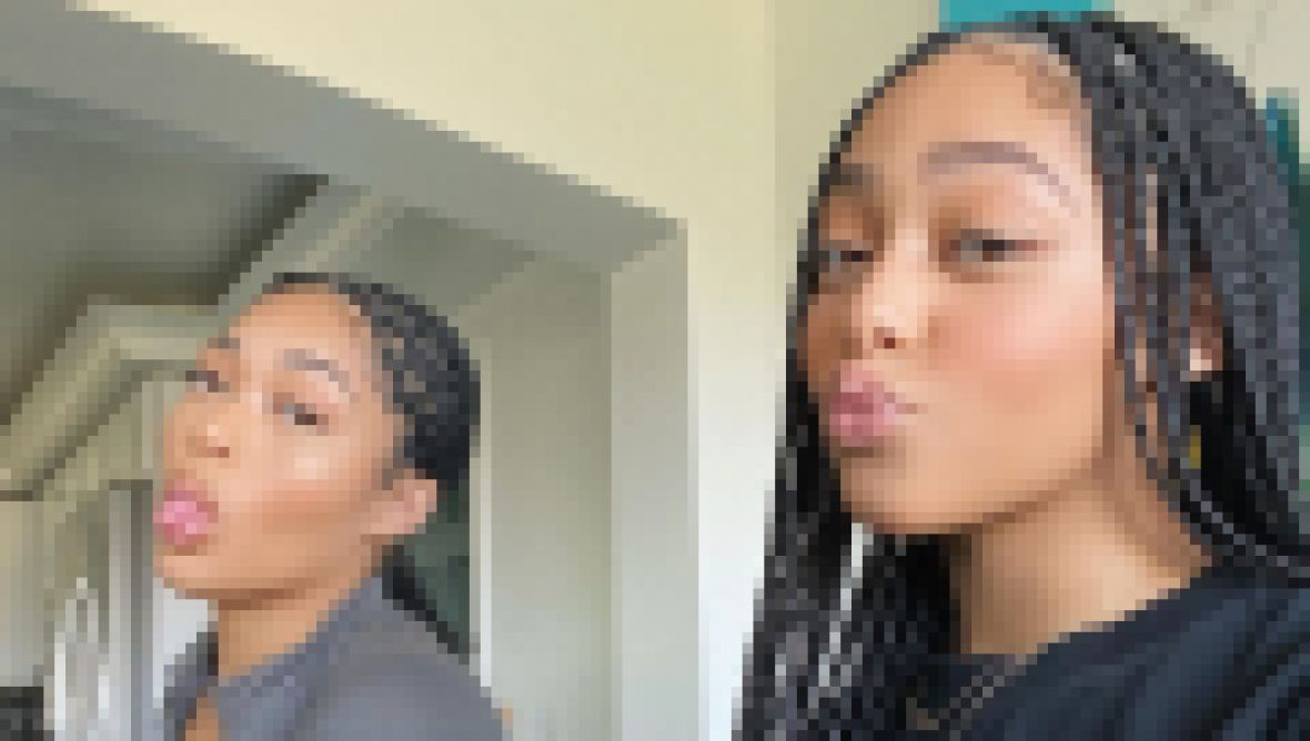 Jordyn Woods and Jodie Woods Twinning Moments, March 4