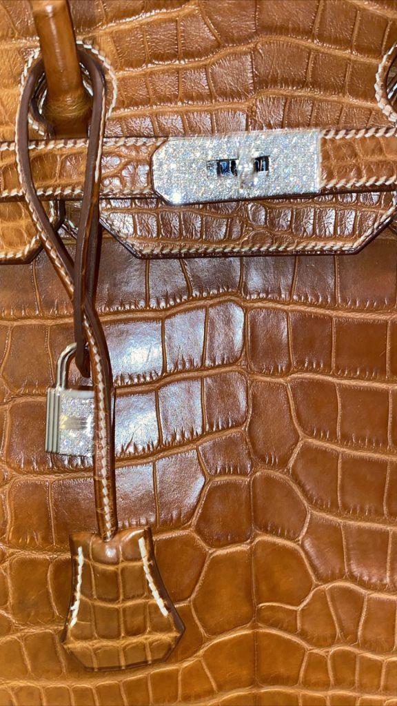 Kylie Jenner Crocodile Hermes Birkin Bag