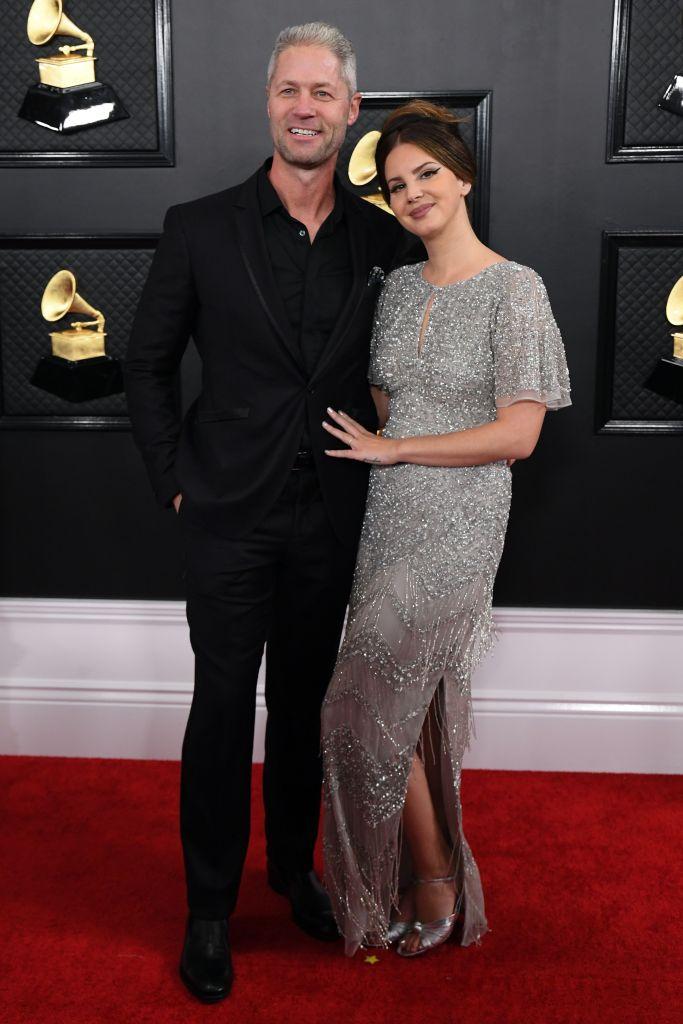 Lana Del Rey and Boyfriend Sean Larkin at 2020 Grammys