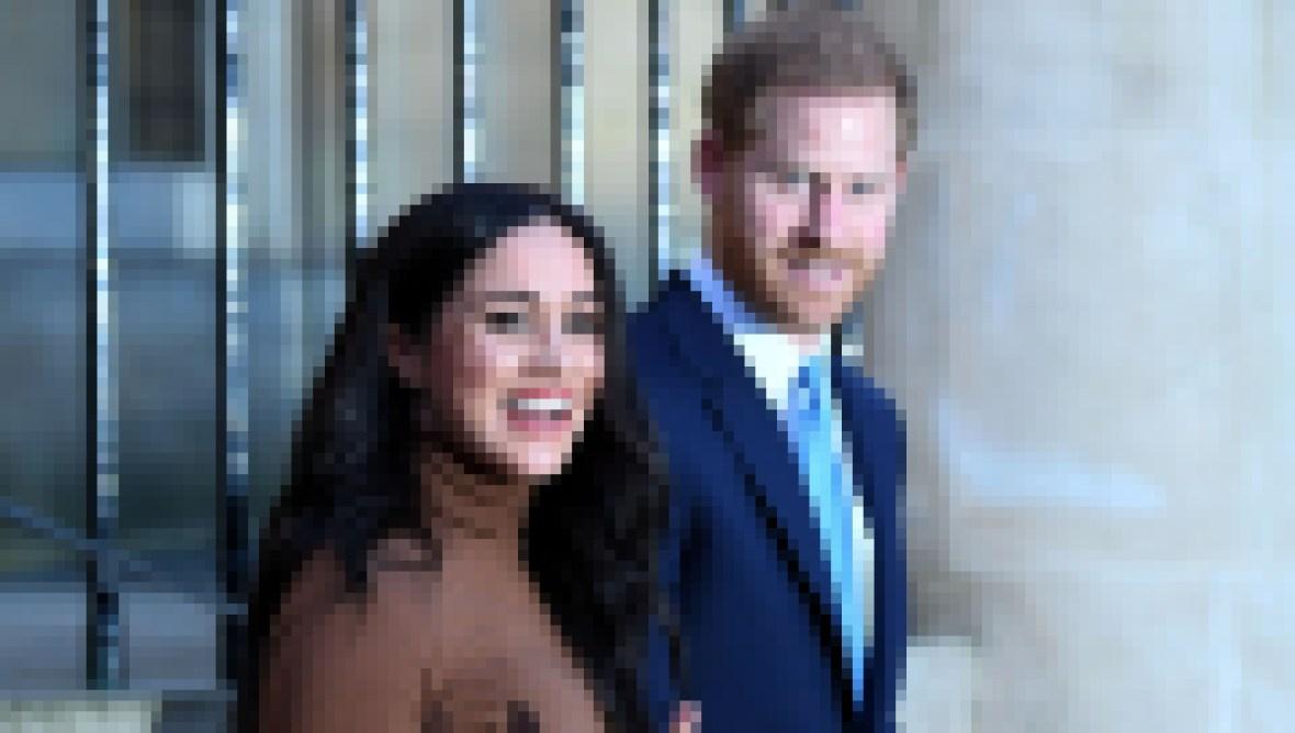 Meghan Markle Holding Onto Prince Harry