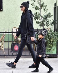 Naya Rivera Shopping Hand-in-Hand With Son Josey