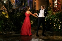 Kelley and Peter Dancing on the Bachelor