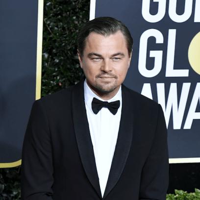 Leonardo DiCaprio at the 2020 Golden Globes