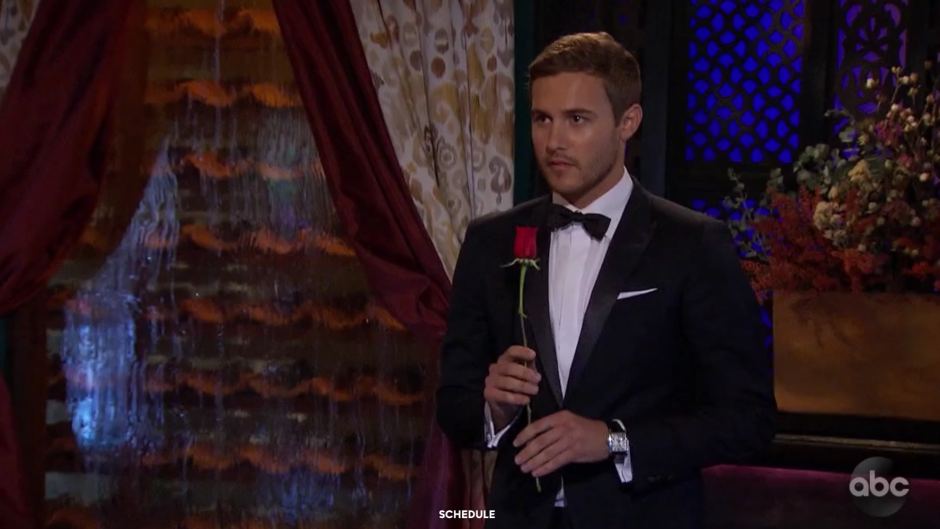 Peter Weber Canceled the Group Date After Hannah Brown Talk on The Bachelor