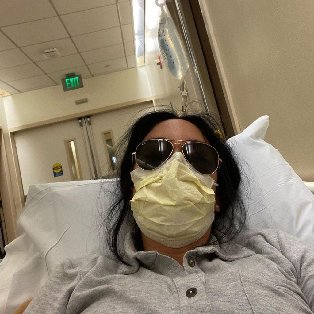 Stephanie Shepherd at the Hospital