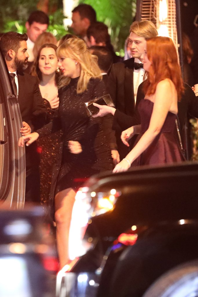 Taylor Swift and Joe Alwayn at the Golden Globes Afterparty