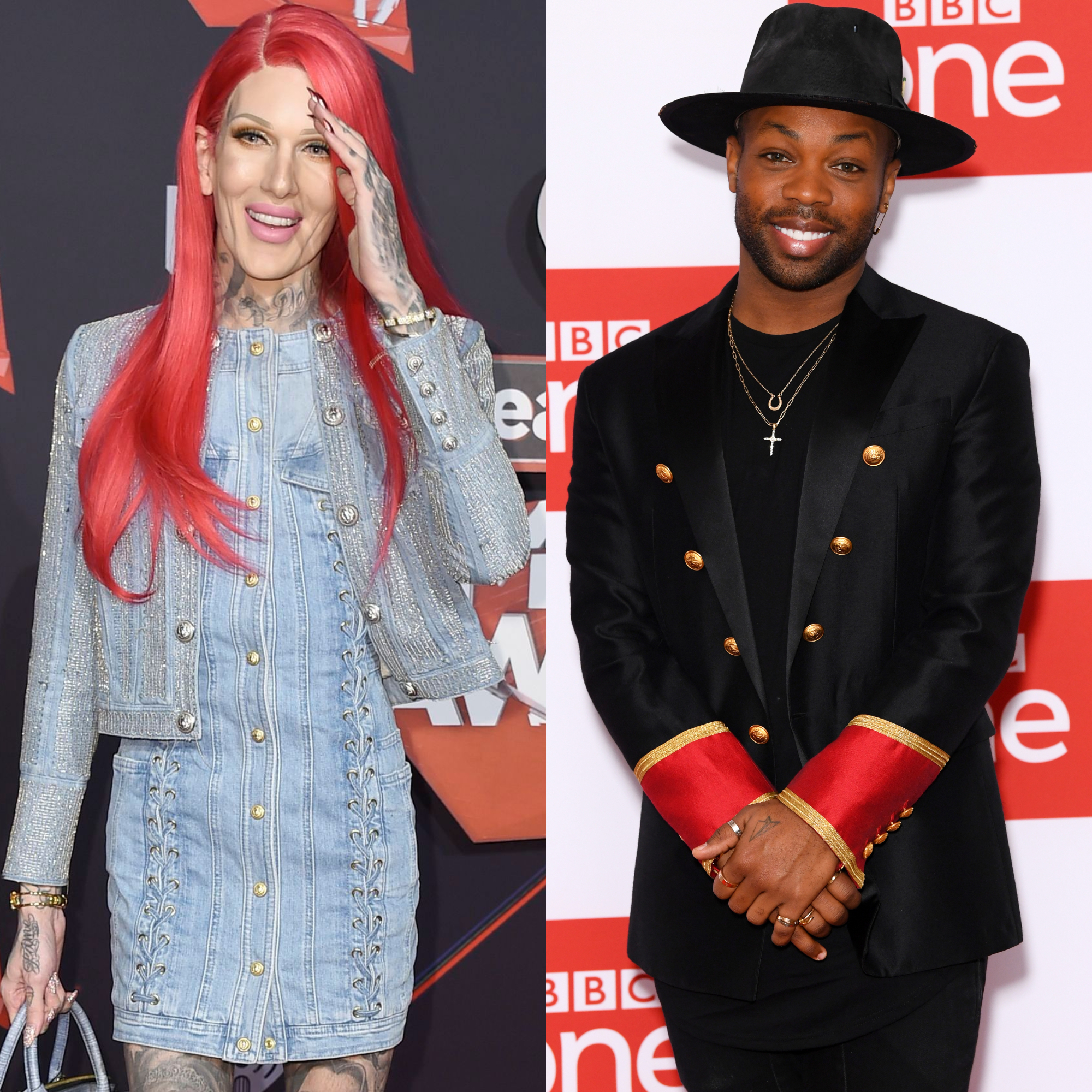 Newly Single Jeffree Star and Todrick Hall Have a Flirty Exchange on Instagram