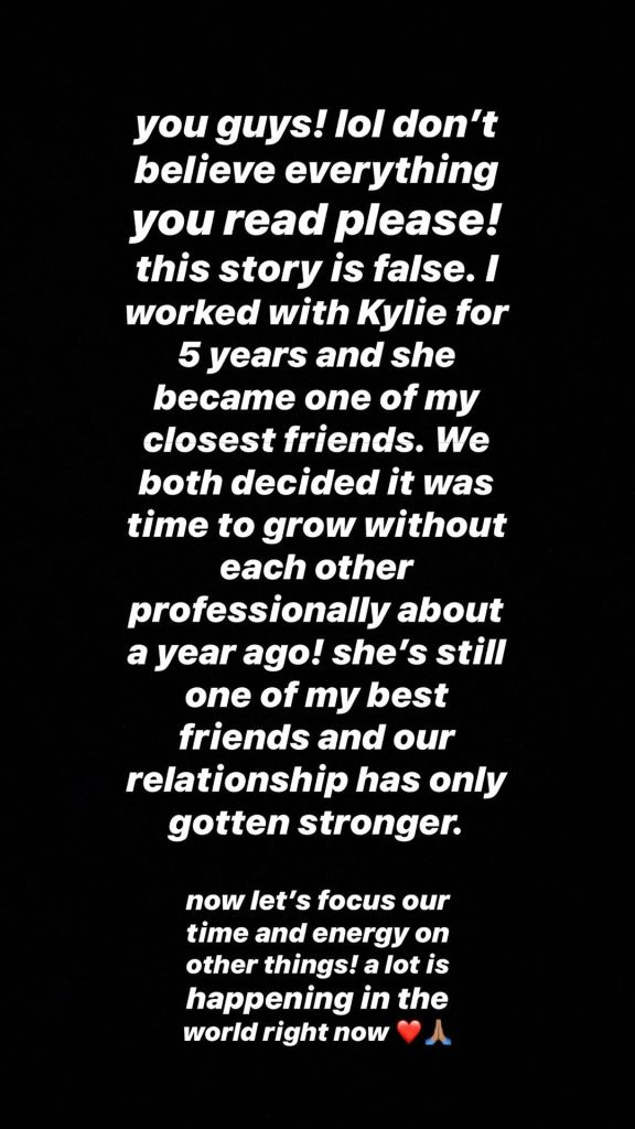 Victoria Villarroel Instagram Message