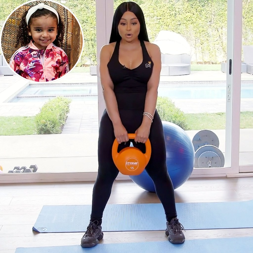 Watch Blac Chyna At-Home Workout With Daughter Dream Kardashian