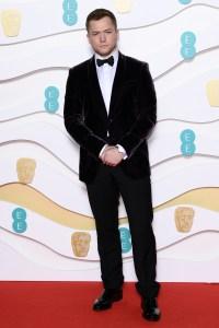 BAFTA Awards 2020 Red Carpet Taron Egerton