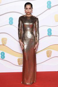BAFTA Awards 2020 Red Carpet Zoe Kravitz