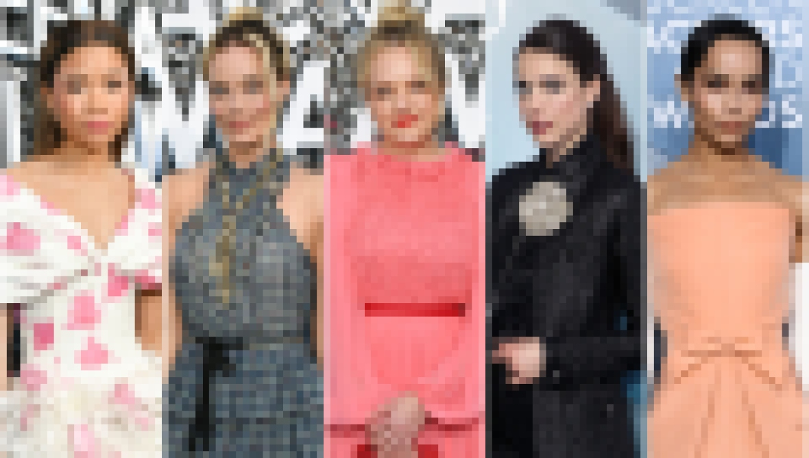 Storm Reid, Margot Robbie, Elisabeth Moss, Margaret Qualley, Zoe Kravitz Best Worst Dressed SAG Awards 2020