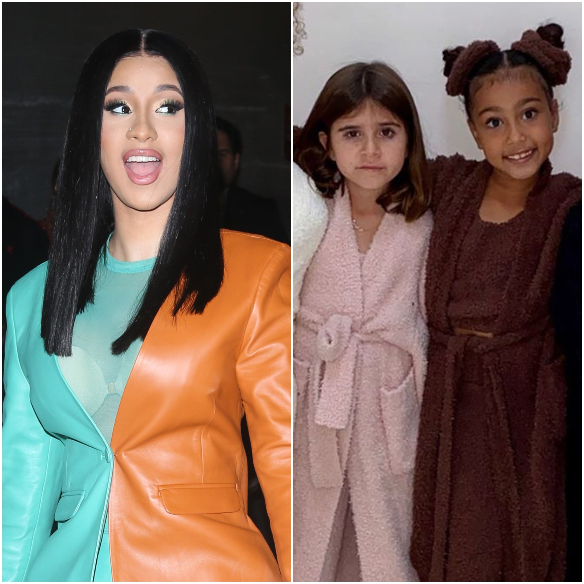 Cardi B Reacts to North West and Penelope Disick's 'Cardi Crew' Video: 'I Feel So Happy'