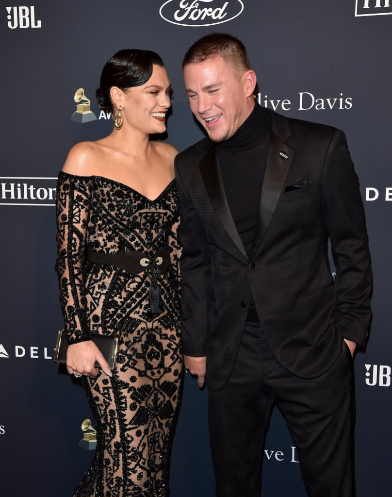 Channing Tatum and Jessie J Make Second Red Carpet Appearance in Two Days at Pre-Grammys Gala