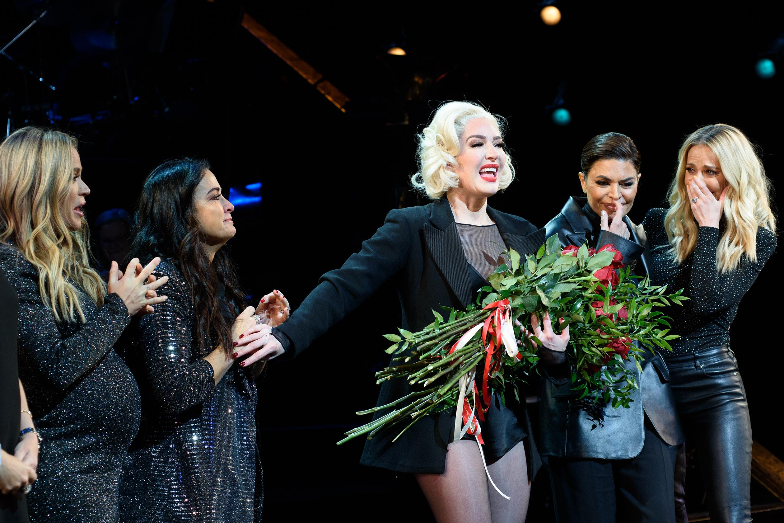 The Beverly Hills 'Housewives' Support Erika Jayne During Her Broadway Run in 'Chicago' and It's Too Cute