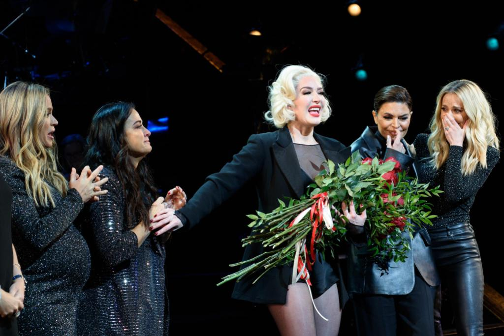 Erika Jayne and 'RHOBH' Cast at Chicago on Broadway