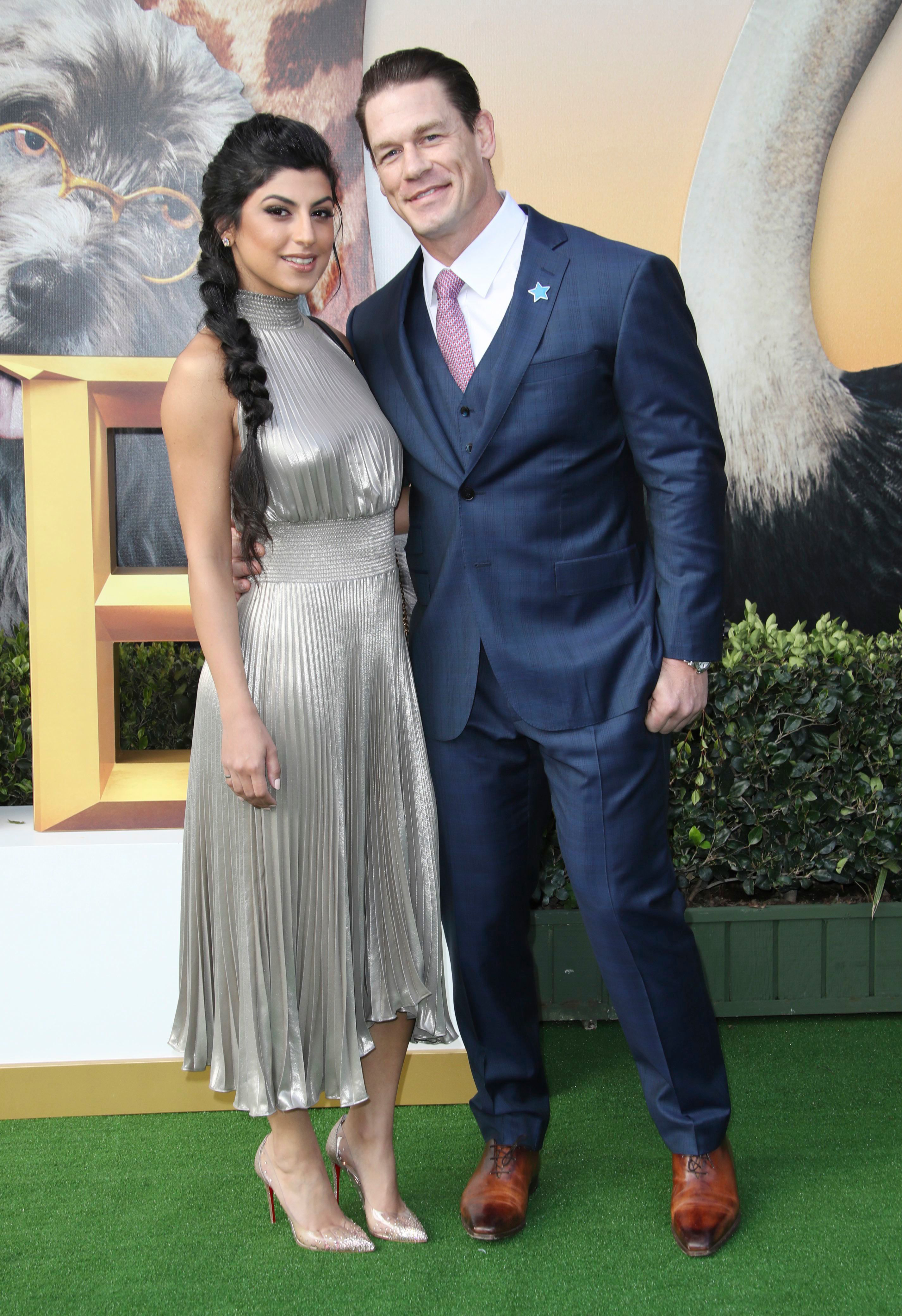 John Cena's Girlfriend Shay Shariatzadeh Was 'Totally Comfortable' at 'Dolittle' Red Carpet Premiere