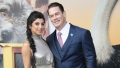 john cena's girlfriend shay shariatzadeh looked 'comfortable' at the 'dolittle' premiere