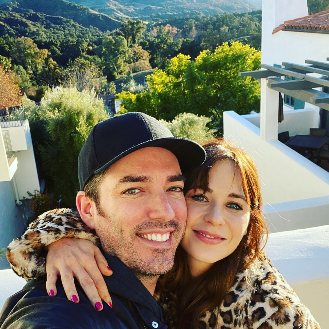 Jonathan Scott Shares the Sweetest Comment on GF Zooey Deschanel's Instagram for Her 40th Birthday