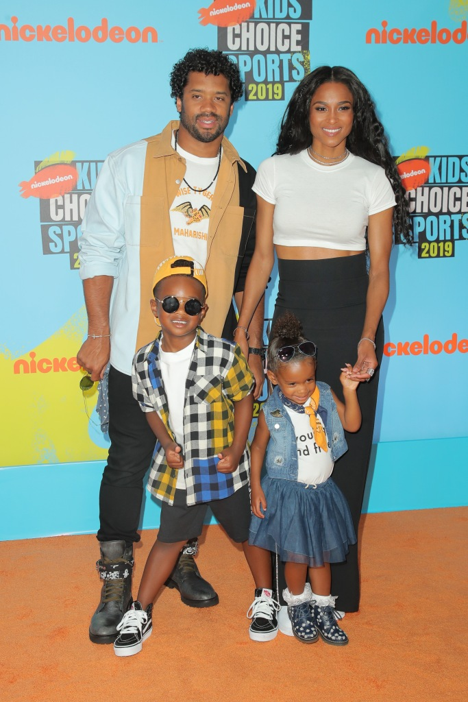 Ciara and Russell Wilson Family