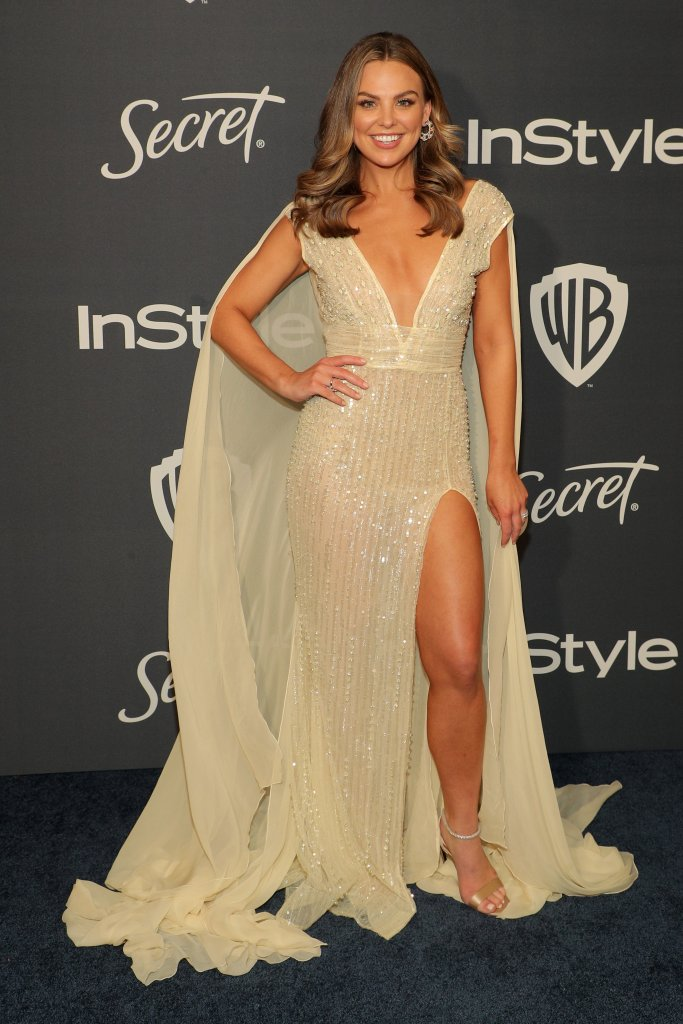 Hannah Brown Golden Globes Afterparty Instyle