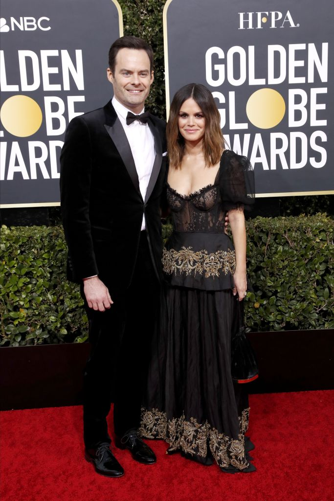 Rachel Bilson and Bill Hader Golden Globes