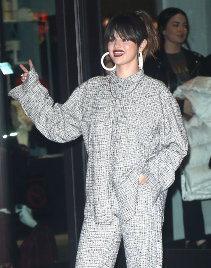 Selena Gomez Promoting Rare