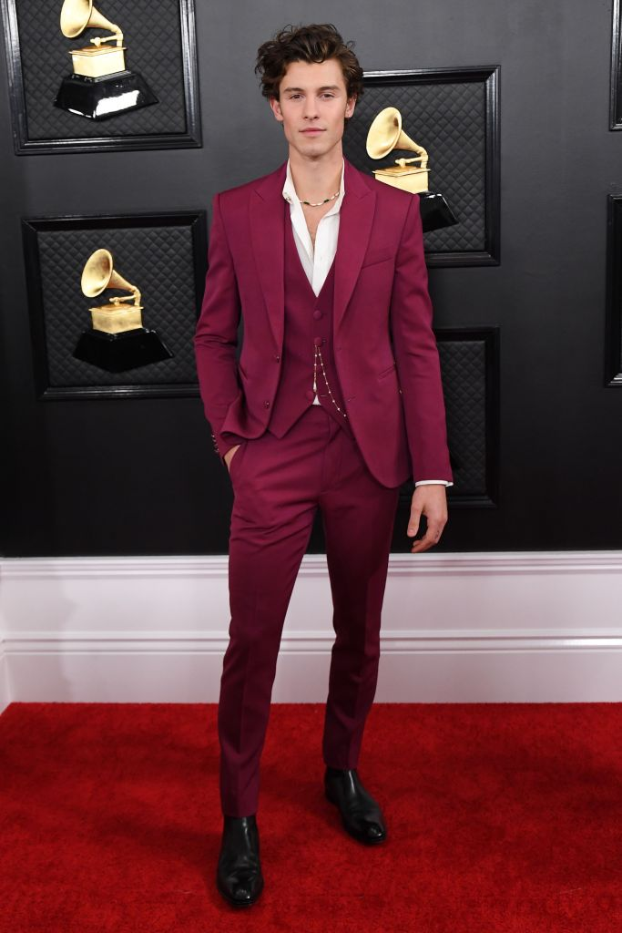 Shawn Mendes 62nd Annual Grammy Awards, Arrivals, Fashion Highlights, Los Angeles, USA - 26 Jan 2020