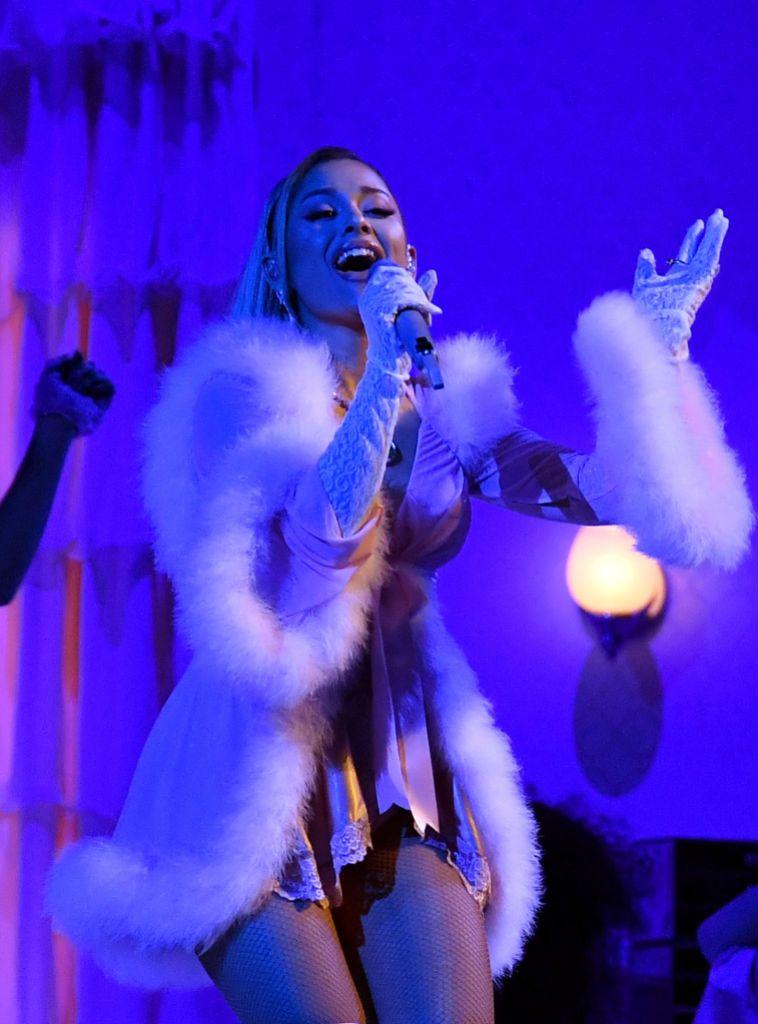 Ariana Grande 62nd Annual Grammy Awards, Show, Los Angeles, USA - 26 Jan 2020