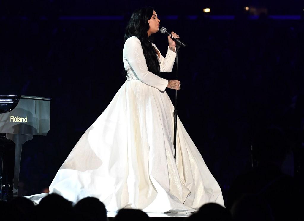 Demi Lovato Grammys Dress