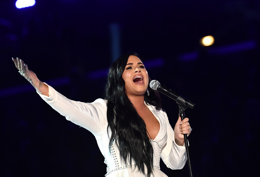 Demi Lovato 62nd Annual Grammy Awards, Show, Los Angeles, USA - 26 Jan 2020