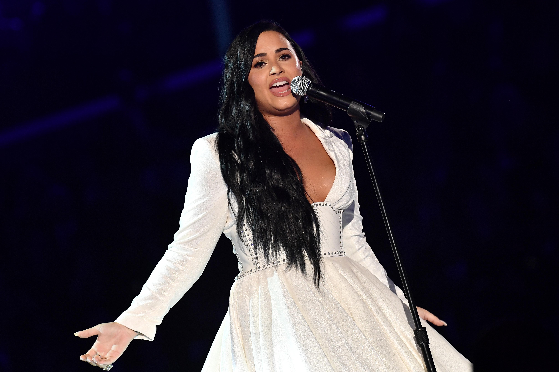 Demi Lovato S Anyone Lyrics From Grammys Written Before Overdose Read or print original nobody's listening lyrics 2020 updated! 2