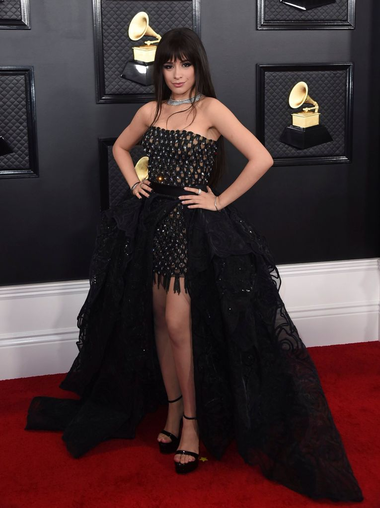 Camila Cabello 62nd Annual Grammy Awards - Arrivals, Los Angeles, USA - 26 Jan 2020
