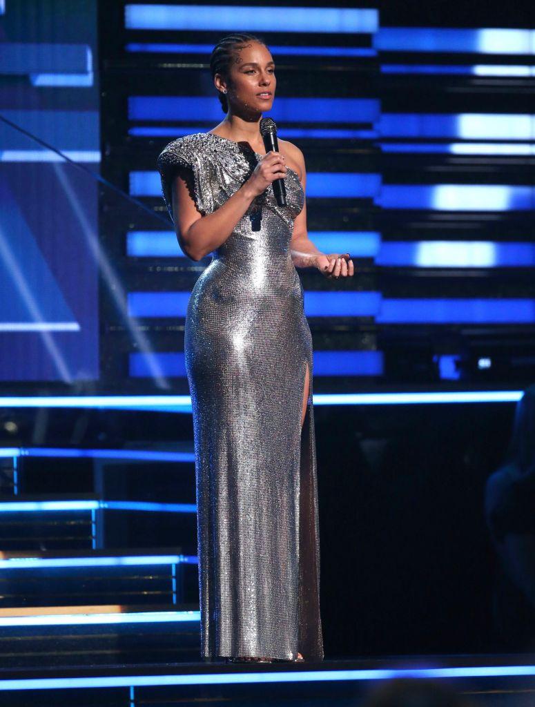 Alicia Keys 62nd Annual Grammy Awards - Show, Los Angeles, USA - 26 Jan 2020