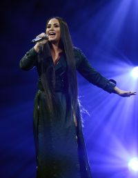 Demi Lovato Performing at 2020 Grammys