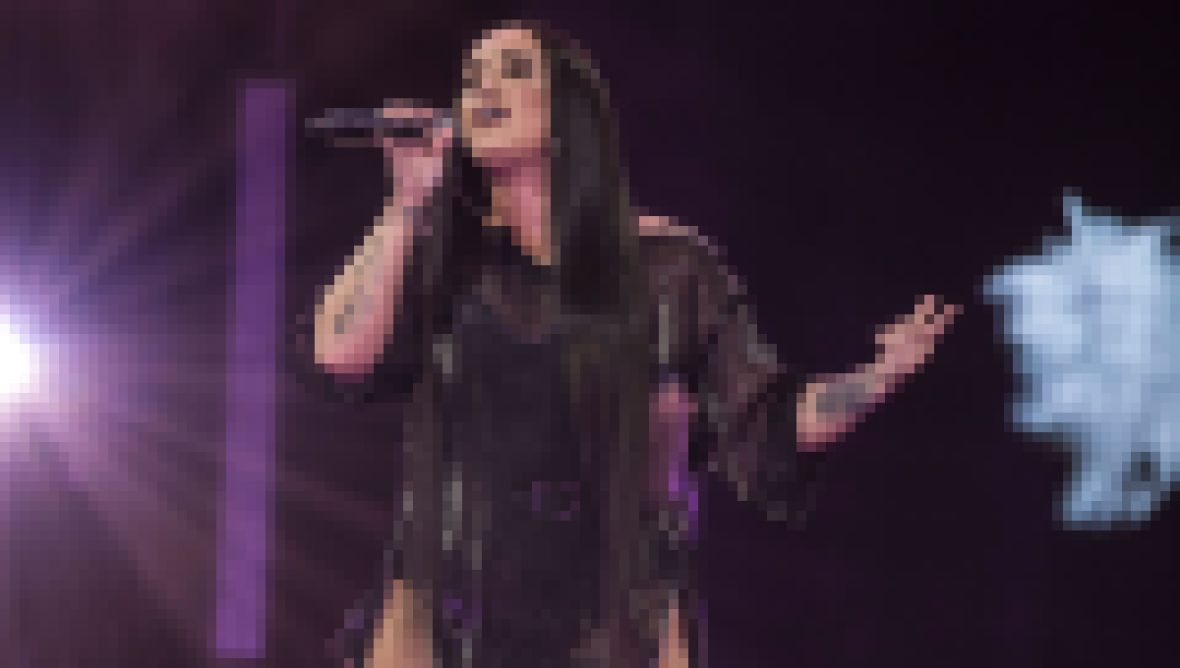 Demi Lovato Performing National Anthem at Super Bowl LIV