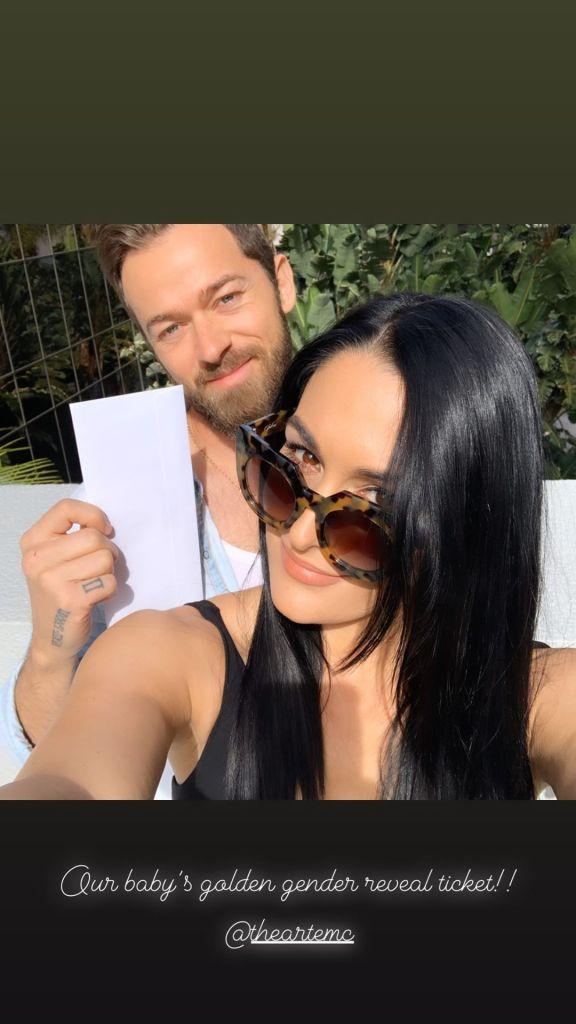 Nikki Bella and Artem Gender Reveal