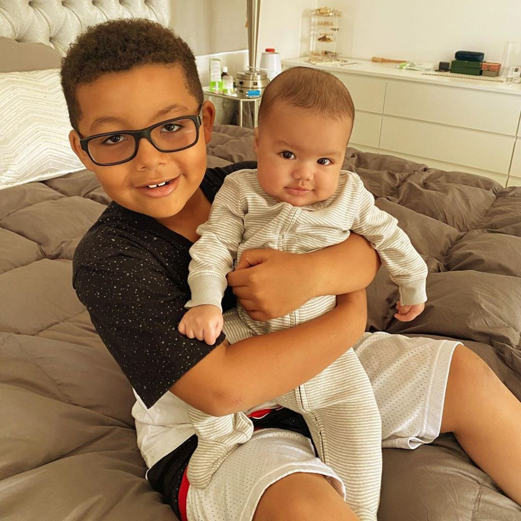 Who Are Amber Rose S Kids Meet Sons Sebastian And Slash
