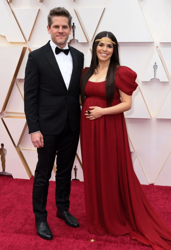 America Ferrera and Husband Ryan Piers Williams on 2020 Oscars Red Carpet
