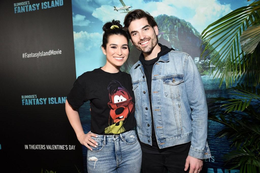Ashley Iaconetti Wearing a Disney Shirt With Jared Haibon