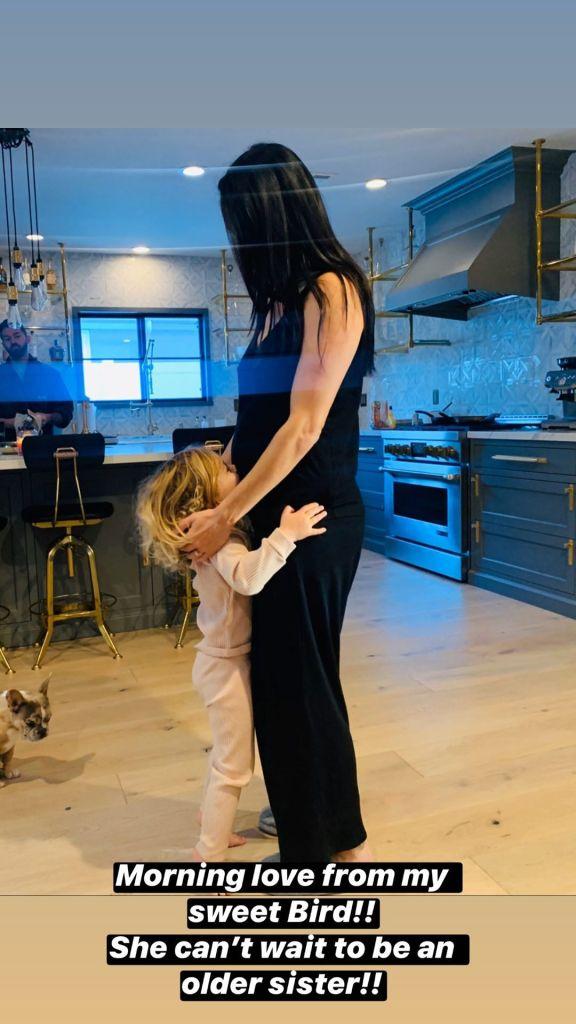 Brie Bella and Daughter Birdie