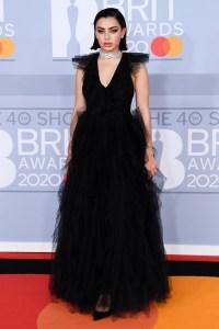 Charli XCX at the Brit Awards