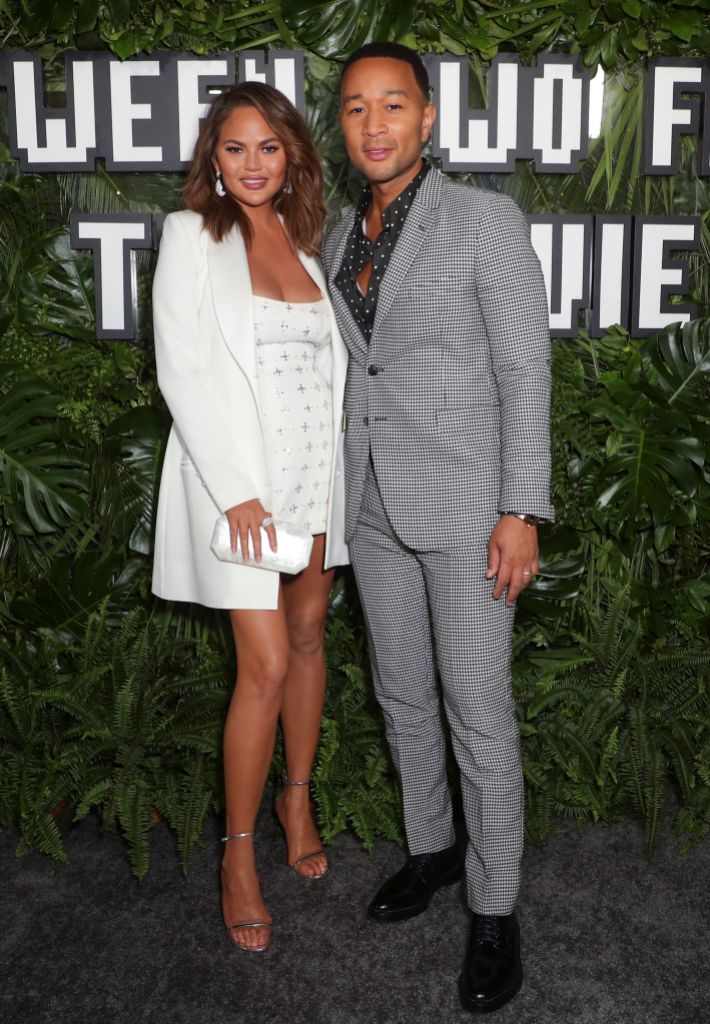 Chrissy Teigen and John Legend at the 'Between Two Ferns: The Movie' film premiere