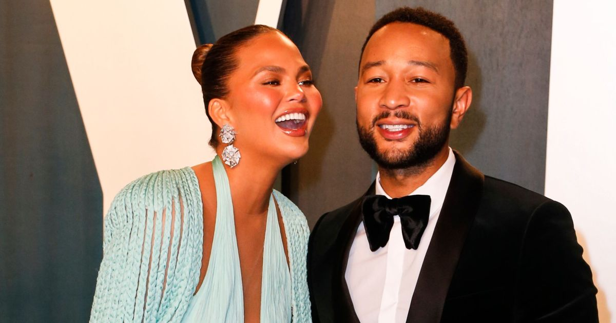 LOL! John Legend Pays Tribute to Chrissy Teigen With a Hilarious Video