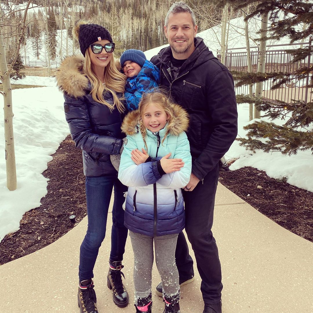 Christina, Ant Anstead and the kids