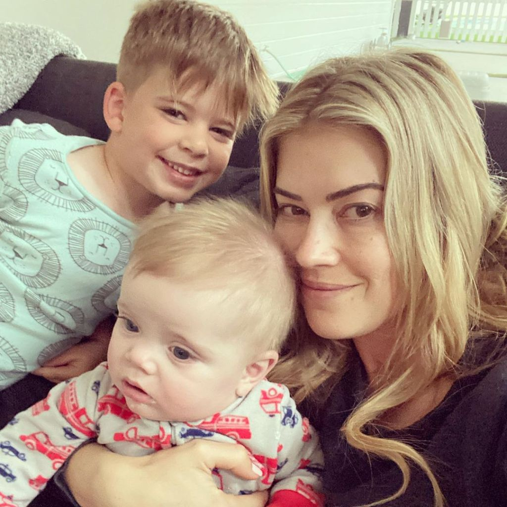 Christina Anstead and Her Kids